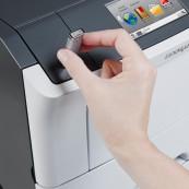 Imprimanta laser monocrom Lexmark M3150, USB, 50ppm, 1200 x 1200 dpi, Second Hand Imprimante
