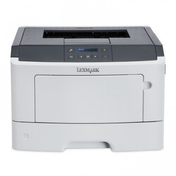 Imprimanta Laser Monocrom Lexmark MS312dn, Duplex, A4, 33ppm, 1200 x 1200 dpi, Retea, USB, Paralel, Second Hand