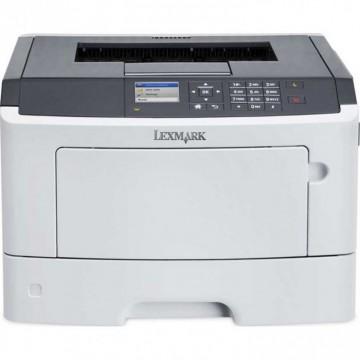Imprimanta Laser Monocrom Lexmark MS415dn, Duplex, A4, 38ppm, 1200 x 1200 dpi, USB, Retea, Second Hand