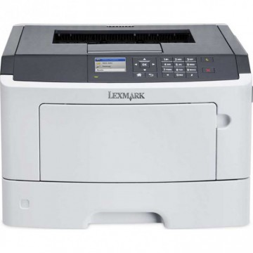 Imprimanta Laser Monocrom Lexmark MS517dn, Duplex, A4, 45ppm, 1200 x 1200 dpi, USB, Retea, Second Hand