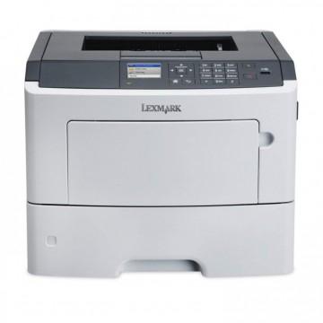 Imprimanta Laser Monocrom Lexmark MS610dn, Duplex, A4, 47ppm, 1200 x 1200 dpi, USB, Retea, Second Hand