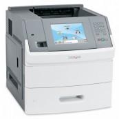 Imprimanta laser monocrom Lexmark T656DNE, Duplex, Retea, 55ppm, Second Hand Imprimante