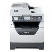 Imprimanta Multifunctionala Brother MFC-8380DN, 30 PPM, 1200 x 1200 DPI , Duplex, Retea, A4, Monocrom, Cartus si Unitate Drum Noi, Second Hand Imprimante Multifunctionale