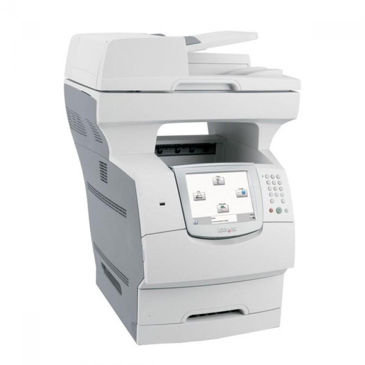 imprimanta multifunctionala lexmark x646e copiator fax scanner
