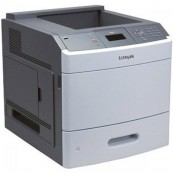Imprimanta Second Hand laser monocrom Lexmark T650N, Retea, USB 45ppm Imprimante