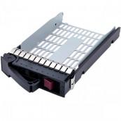 Caddy/Sertar Hard Disk HP, 3.5 inch, compatibil cu servere si storageworks din seriile DL, ML si Proliant, Second Hand Servere & Retelistica