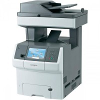 Multifunctionala COLOR Lexmark X736de, A4, Imprimanta, Scanner, Copiator, Fax