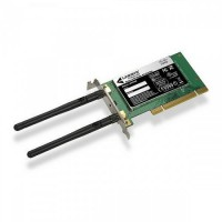 Placa retea Wi-Fi Linksys WMP600N, PCI, Dual Band 2.4- 5 Ghz, Low Profile