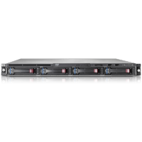 Hp Proliant DL160 G6, 2 x Intel Xeon L5520 Quad Core, 2.26Ghz, 16Gb DDR3 ECC, 2 x 320Gb SATA, OnBoard RAID