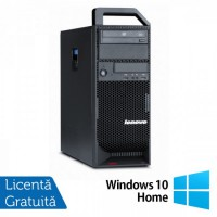 Workstation Lenovo ThinkStation S20 Tower, Intel Xeon E5504 2.00Ghz, 4Gb DDR3, 150GB HDD, DVD-RW + Windows 10 Home