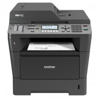 Multifunctionala BROTHER MFC 8520DN, A4, Duplex, Scanner, Copiator, Printer si Fax, Retea si USB, 36 ppm + Cartus si Unitate Drum NOI