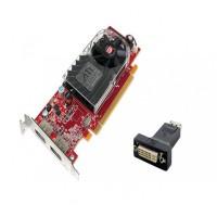 Placa video PCI-E ATI Radeon HD 3470, 256 MB, 2x DisplayPort, Low profile design +  Adaptor 4WORLD DisplayPort [M] > DVI-I [F] (24+5)