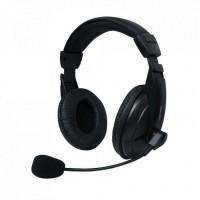 Set MSONIC casti microfon stereo, Negru