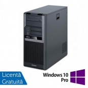 Fujitsu CELSIUS W280, Intel Core i3-530 2.93Ghz, 4Gb DDR3, 250Gb SATA, DVD-RW + Windows 10 Pro, Refurbished Calculatoare