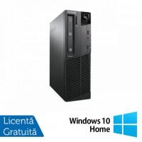 Calculator LENOVO M90p SFF, Intel Core i5-650 3.2GHz, 4GB DDR3, 160GB SATA, DVD-RW + Windows 10 Home