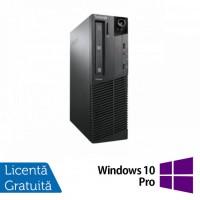 Calculator LENOVO M90p SFF, Intel Core i5-650 3.2GHz, 4GB DDR3, 160GB SATA, DVD-RW + Windows 10 Pro