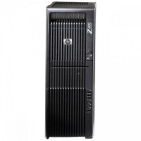 Statie Grafica HP Z600, Intel Xeon Quad Core E5506 2.13GHz 4Mb Cache, 24Gb DDR3 ECC, 2TB SATA, DVD-ROM, nVidia Quadro 4000 2GB 256-bit
