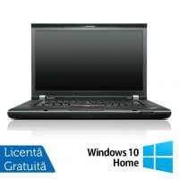 Laptop Refurbished LENOVO ThinkPad T530, Intel Core i5-3320M 2.60 GHz, 4GB DDR3, 320GB SATA, DVD-RW + Windows 10 Home