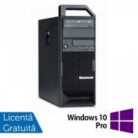 Workstation Refurbished Lenovo ThinkStation S20 Tower, Intel Xeon E5504 2.00Ghz, 12Gb DDR3, ATI HD5450/512MB, 2x750GB HDD, DVD-RW + Windows 10 Pro