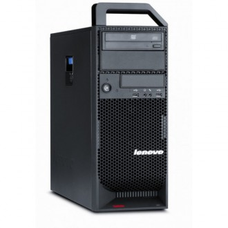 Workstation Lenovo ThinkStation S20 Tower, Intel Xeon E5504 2.00Ghz, 12Gb DDR3, 2TB HDD, Nvidia GeForce 9300GE/512MB, DVD-RW