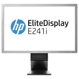 Monitor Refurbished HP EliteDisplay E241i, 24 inch, IPS, LED, VGA, DVI, USB, Full HD