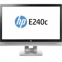 Monitor HP EliteDisplay E240C, 24 inch, IPS, W LED, VGA, HDMI, USB, Webcam, Full HD