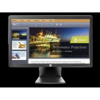 Monitor LED HP E201, 20 inch, 5 ms, VGA, DVI, Fara picior
