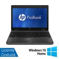 HP Refurbished ProBook 6560b Notebook, Intel Core i5-2520M, 2.5Ghz, 4GB DDR3, 320Gb HDD, DVD-RW, 15.6 Inch LED, Tastatura numerica + Windows 10 Home