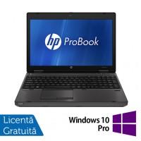 HP Refurbished ProBook 6560b Notebook, Intel Core i5-2520M, 2.5Ghz, 4GB DDR3, 320Gb HDD, DVD-RW, 15.6 Inch LED, Tastatura numerica + Windows 10 Pro