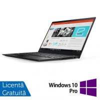 Laptop Refurbished Lenovo ThinkPad X1 CARBON, TouchScreen, Finger Print, Intel Core i7-4600U 2.10 GHz, 14 inch, 8GB DDR3, 240GB SSD + Windows 10 Pro
