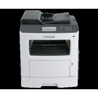 Multifunctionala LEXMARK MX410de, 38 PPM, 1200 x 1200 DPI, Duplex, Retea si USB, A4, Monocrom, Toner Low