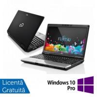 Laptop Refurbished FUJITSU SIEMENS Lifebook E752, Quad Core i7-3632QM 2.20GHz, 8GB DDR3, 120GB SSD, DVD-RW + Windows 10 Pro