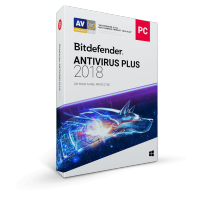 Licenta Bitdefender Antivirus Plus 2018, 1 AN, 3 PC-uri