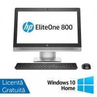 All In One Refurbished HP 800G2, 23 inch, Intel Core i7-6700 3.40GHz, 16GB DDR3, 256GB SSD, FULL HD, IPS, Webcam + Windows 10 Home