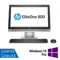 All In One Refurbished HP 800G2, 23 inch, Intel Core i7-6700 3.40GHz, 16GB DDR3, 256GB SSD, FULL HD, IPS, Webcam + Windows 10 Pro