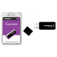 Stick memorie USB, Integral, 32GB, USB 2.0, Capac Detasabil