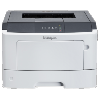 Imprimanta LEXMARK MS-310ND, 35 PPM, Duplex, Retea, Parallel, USB, 1200 x 1200, Laser, Monocrom, A4, Toner Low