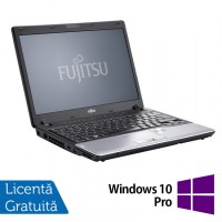 Laptop Refurbished FUJITSU SIEMENS P702, Intel Core i3-2370M 2.40GHz, 8GB DDR3, 320GB HDD + Windows 10 Pro