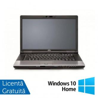 Laptop Refurbished FUJITSU SIEMENS E752, Intel Core i3-3110M 2.40GHz, 8GB DDR3, 320GB SATA, DVD-RW, 15.4 inch + Windows 10 Home