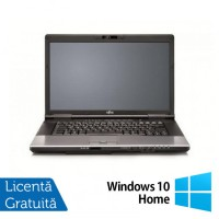 Laptop Refurbished FUJITSU SIEMENS E752, Intel Core i3-3110M 2.40GHz, 8GB DDR3, 120GB SSD, DVD-RW, 15.4 inch + Windows 10 Home