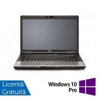 Laptop Refurbished FUJITSU SIEMENS E752, Intel Core i3-3110M 2.40GHz, 8GB DDR3, 120GB SSD, DVD-RW, 15.4 inch + Windows 10 Pro