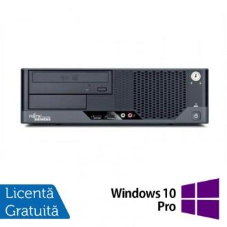 Calculator Refurbished FUJITSU SIEMENS Esprimo E7935 SFF, Intel Core 2 Duo E7300 2.66 GHz, 4 GB DDR2, 250GB SATA, DVD-ROM + Windows 10 Pro