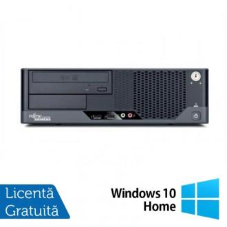 Calculator Refurbished FUJITSU SIEMENS Esprimo E7935 SFF, Intel Core 2 Duo E8500 3.16 GHz, 4 GB DDR2, 250GB SATA, DVD-ROM + Windows 10 Home