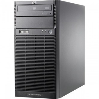 Server HP ProLiant ML110 G6 Tower, Intel Xeon Quad Core X3430 2.40GHz, 8GB DDR3, 1 TB SATA, DVD-ROM, PSU 300W