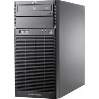 Server HP ProLiant ML110 G6 Tower, Intel Xeon Quad Core X3430 2.40GHz, 16GB DDR3, 4 x 2TB SATA, DVD-ROM, PSU 300W