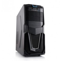 Sistem PC Gaming Hurricane V2,Intel Core i5-2400 3.10 GHz, 16GB DDR3, 240GB SSD, MSI GeForce GT 1030 2G OC 2GB, DVD-RW