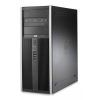 Calculator HP Compaq 8000 Elite Tower, Intel Core 2 Quad Q9500 2.83GHz, 4GB DDR 3, 250GB SATA, DVD-ROM