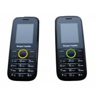 Pachet 2 telefoane, Kooper MOBILE D01, Dual SIM, Radio, Lanterna, Camera