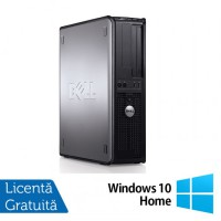 Calculator Refurbished DELL Optiplex GX780 Desktop, Intel Core 2 Duo E8400 3.00GHz, 4GB DDR3, 160GB SATA, DVD-ROM + Windows 10 Home