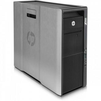 Workstation Refurbished HP Z820, 2x Intel Xeon E5-2660 V2 2.20GHz-3.00GHz DECA Core, 32GB DDR3 ECC, 1TB HDD + 240GB SSD, nVidia Quadro 4000 2GB GDDR5, 256 BIT + Windows 10 Pro 64 biti